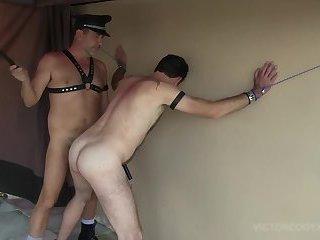 Scott Duran Flogged And Fucked Raw