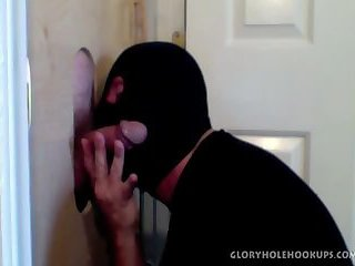 Married 8 Inch Cock At The Gloryhole