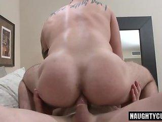 Tattoo jock anal sex and cumshot