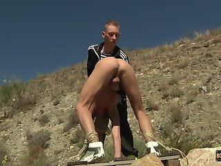Justin Gets His Hole Used And Pissed In! - Justin Blaber & Ashton Bradley