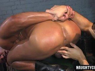 Body builder anal