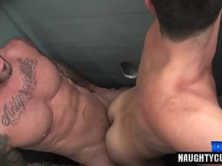 Big dick gay anal sex with cumshot