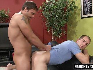 Luscious gay guys fucking