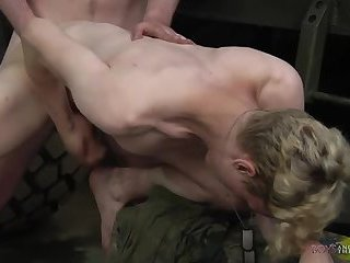 Army Boys Cum Together! - Colby Parker & Jonny Castle