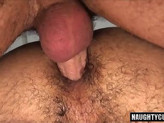 Hairy son oral sex and cumshot