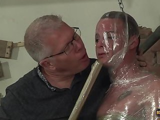 An E-stim Cum Draining! - Cameron James And Sebastian Kane