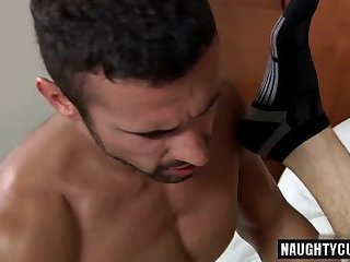 Muscle Boy Anal Sex With Facial Cum