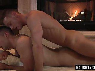Hot son flip flop and cumshot