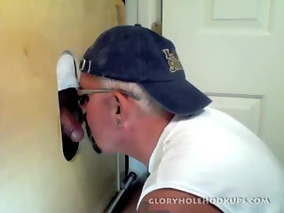 Friendly Face Gets Dick Sucked At Gloryhole