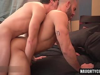 Big dick gay first time anal and facial