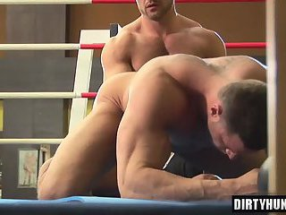Muscle gay fisting with cumshot