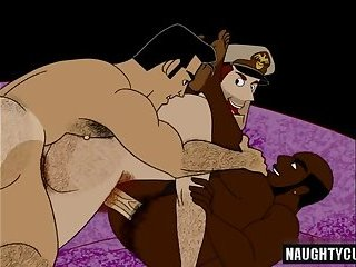 gay cartoon porno immagini