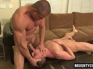 Hot gay rough sex and cumshot