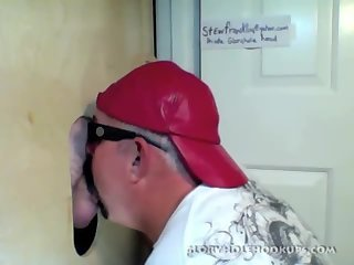 Back At The Gloryhole For Another Blowjob
