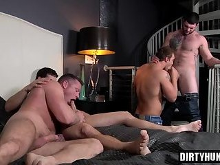 Muscle twinks anal sex with cumshot
