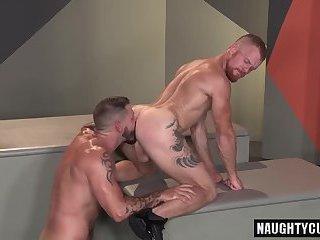 Redhead bear anal with cumshot