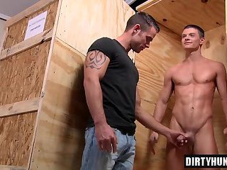 Muscle Gay Double Penetration With Facial