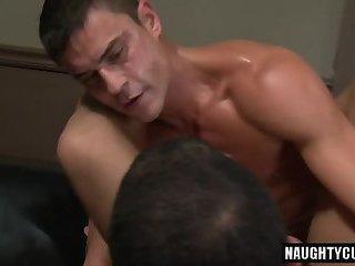 Big dick bottom oral sex and cumshot