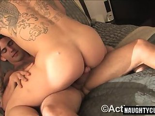 Hot military anal and anal cumshot
