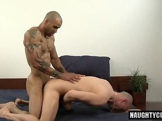 Latin gay bareback with cumshot