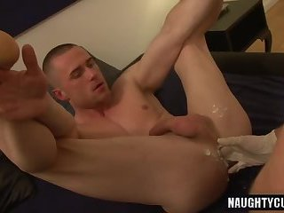 Big dick gay fisting with cumshot
