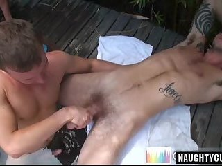 Big dick amateur oral sex and cumshot