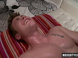 Big dick gay oral sex with massage