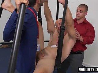 Hot gay anal fetish and facial