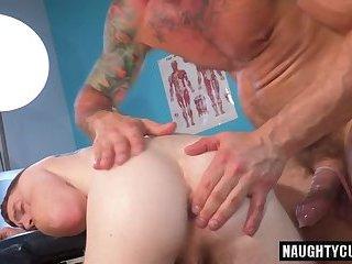 Tattoo gay fetish with cumshot