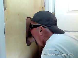 Gloryhole Suck Off and Ass Fucking