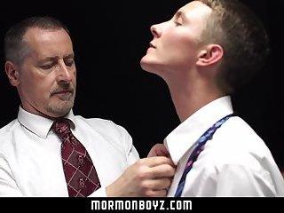 Mormonboyz The Patriarchs Device Stretches A Cute Boys Hole