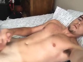 Squirting ball juice all over my hot young ass
