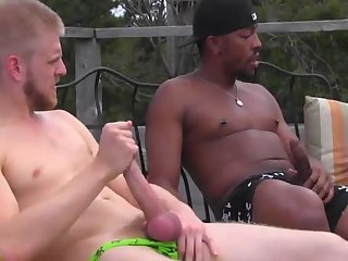 Horny studs fuck their cock hungry friend