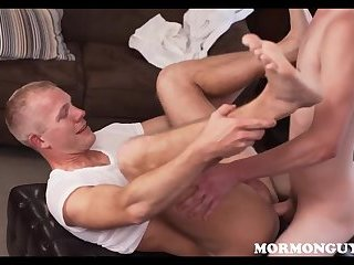 Nerdy Cute Mormon Twink Seduced By Roommate