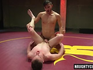 Big dick gay domination and cum eating