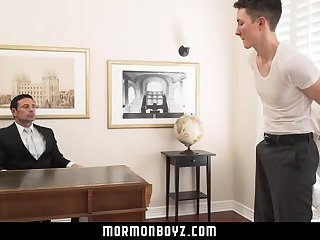 MormonBoyz-Teen boy takes the biggest cock he's ever seen