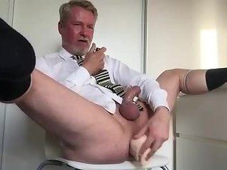 Dad loves poppers and big cocks