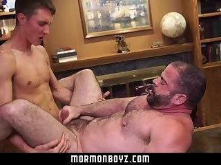 MormonBoyz-Young boy breeding older daddy