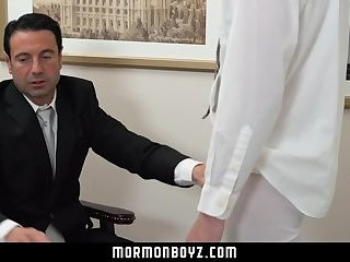 MormonBoyz-Monster cock raw for straight Mormon boy's first time