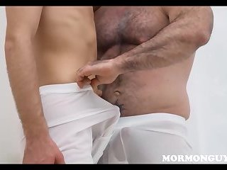 Mormon Twink Fucked By Bear