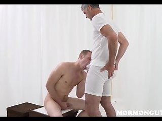 Cute Mormon Twink Fucked By Mission Leader Daddy