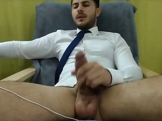 Jerking Off After Work