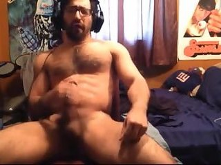 Cum compilation of some hot furry stud