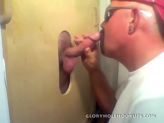 Kenny Throat Fucks At The Gloryhole