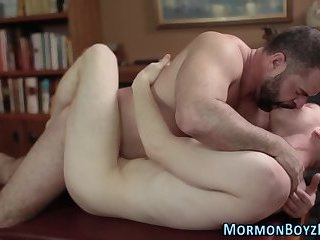 Bareback riding mormon