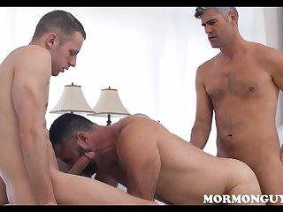 Mormon Jock Fucks Hot Bear