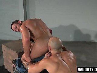 Black gay muscular porn