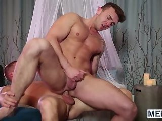 Big fat throbbing meat pole will split his ass wide open