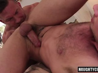 Big dick daddy ass to mouth and cumshot