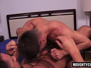 Russian son anal sex with cumshot